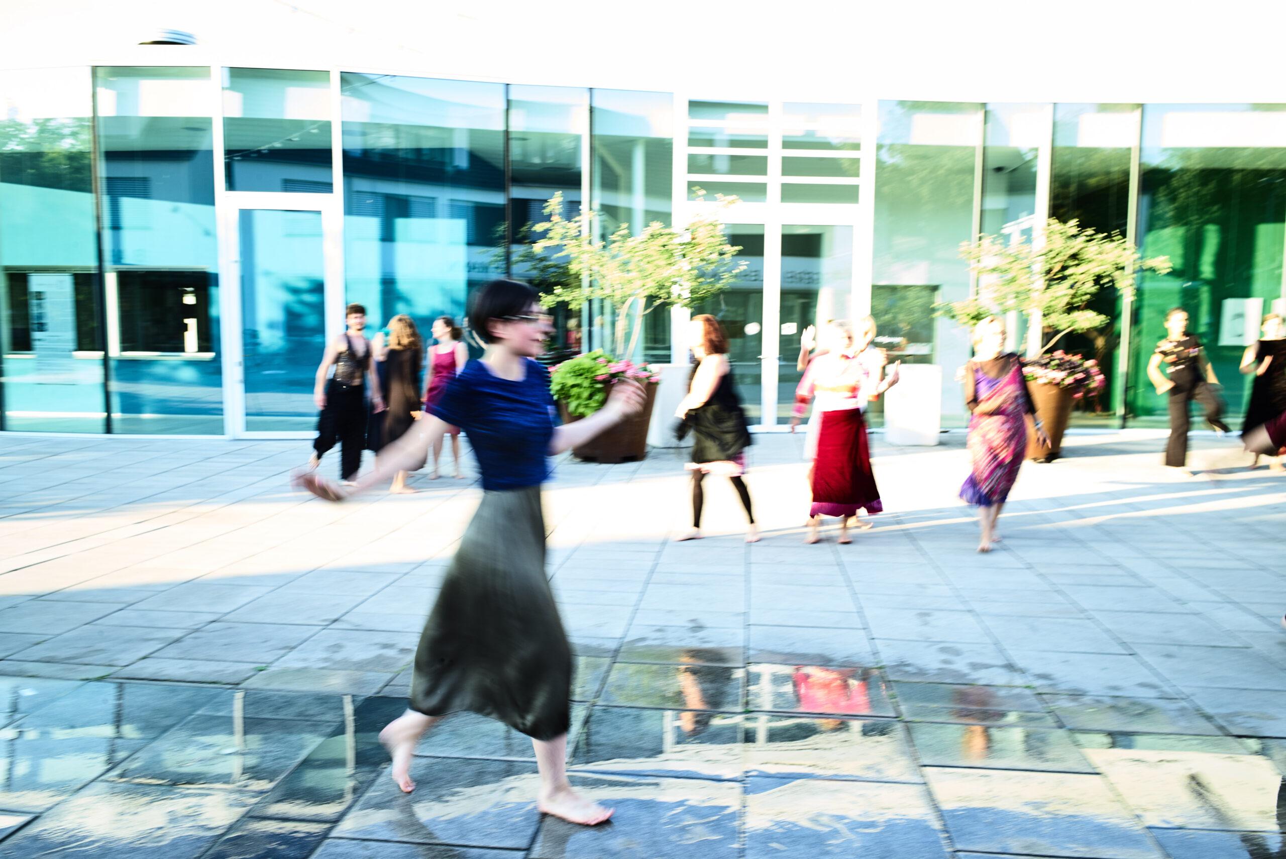 Dance Improvisation performance